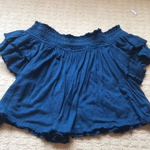 Off the shoulder free people top